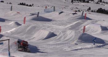 snowpark baqueira beret luis goñi