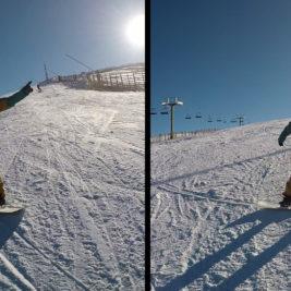 La mirada snowboard Luis Goñi