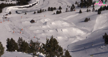 Luis Goñi POrt aine snowpark