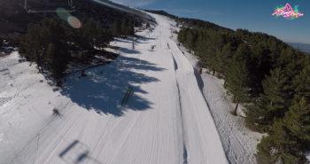 Luis Goñi snowpark javalambre