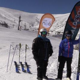 competición esqui