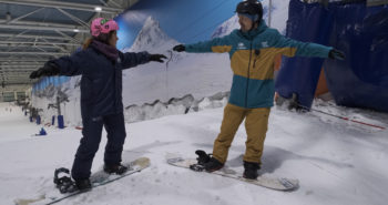 tecnica snowboard. de camino a la cima tv Gran vida snowboard