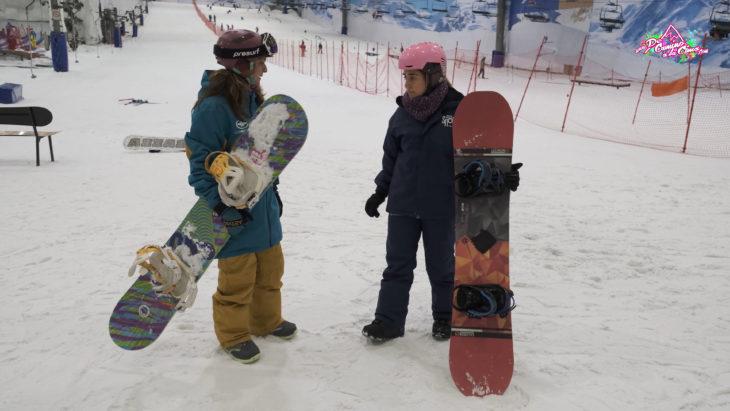 Gran vida snowboard de camino a la cima TV