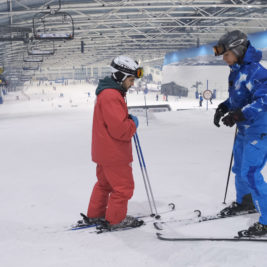 Técnica ski. iniciacion al paralelo. de camino a la cima tv
