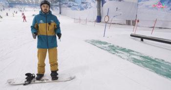 Freestyle snowboard cajones. De camino a la cima tv