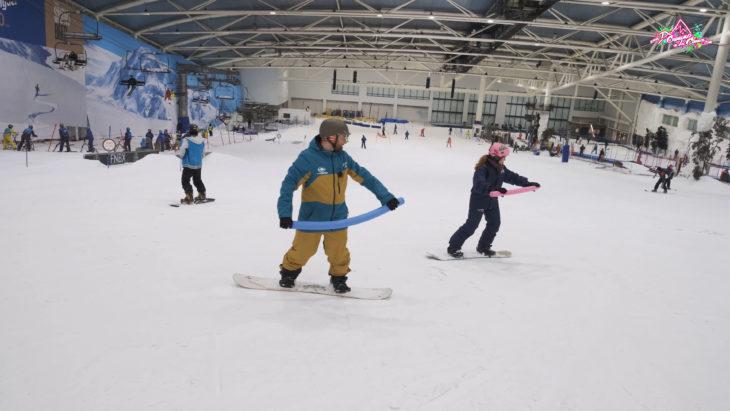 de camino a la cima Tv. gran vida Snowboard