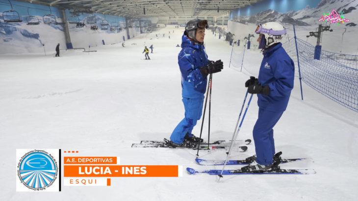 tecnica ski. aula de enseñanzas deportivas