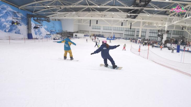 Técnica snowboard. de camino a la cima Tv